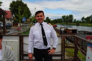 Kapitan portu w Ścinawie Polskiej